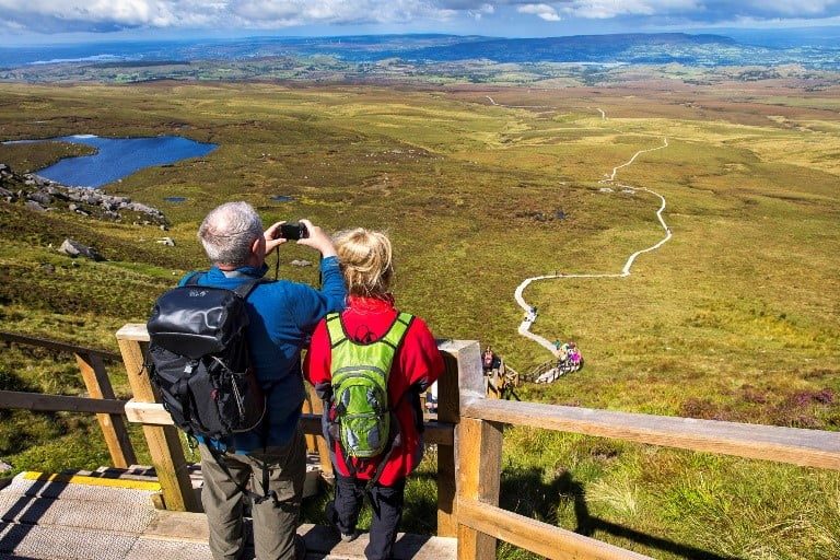 Cuilcagh Board Walk Trail – Stairway to Heaven